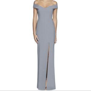 Dessy Bridesmaid Dress Style 3012 Color Platinum